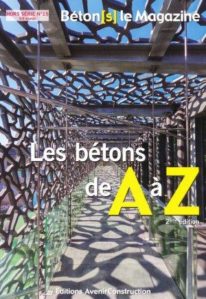 Les bétons de A à Z - avenir construction - 2225597326779 -