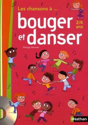 Les chansons à... bouger et danser PS, MS (2 à 4 ans) - Nathan - 3133093912596 -