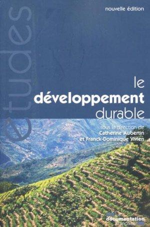 Le développement durable - la documentation francaise - 3303331953159 -