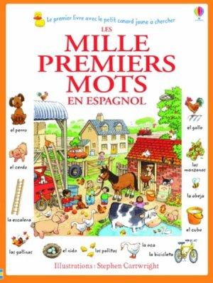 Les mille premiers mots en espagnol - usborne - 9781409570936 -