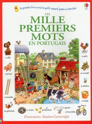 Les mille premiers mots en portugais - Usborne - 9781409592297 -