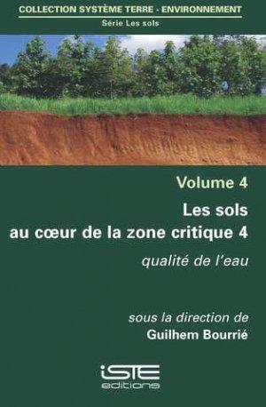 Les sols au coeur de la zone critique volume 4 - iste - 9781784054410