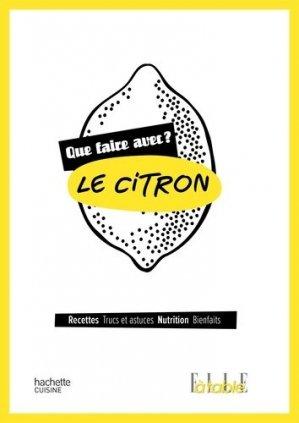 Le citron - hachette - 9782011714039 -