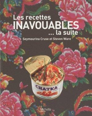 Les recettes inavouables ? la suite - Hachette - 9782012302303 -