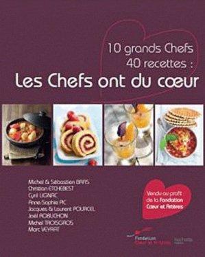 Les Chefs ont du coeur - Hachette - 9782012303119 -