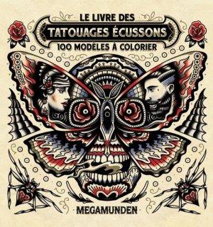 Le livre des tatouages Ecussons - Hachette - 9782012407961 -