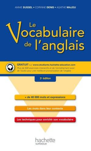 Le vocabulaire de l'anglais - hachette - 9782014004625 -