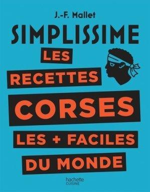 Les recettes corses les + faciles du monde - Hachette - 9782016279632 -