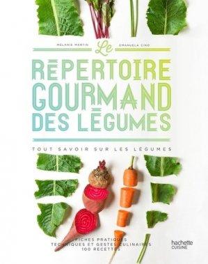 Le répertoire gourmand des légumes - hachette - 9782017020639 -