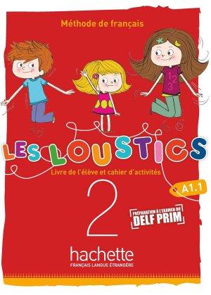 Les Loustics (6 niveaux) volume 2 - Hachette Français Langue Etrangère - 9782017053606 -
