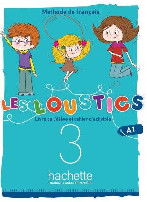 Les Loustics (6 niveaux) volume 3 - Hachette Français Langue Etrangère - 9782017053613 -
