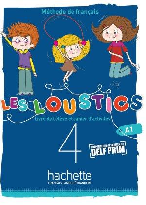 Les Loustics (6 niveaux) volume 4 - Hachette Français Langue Etrangère - 9782017053620 -