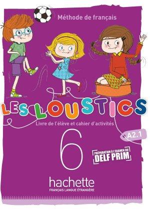 Les Loustics (6 niveaux) volume 6 - Hachette Français Langue Etrangère - 9782017053644 -