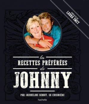 Les recettes préférées de Johnny - Hachette - 9782017059769 -