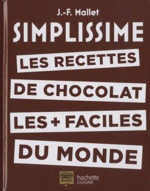 Les recettes de chocolat les + faciles du monde - hachette - 9782019451745 -