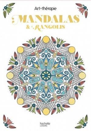 Les Petits blocs d'Art-thérapie Mandalas et rangolis - hachette - 9782019454173 -