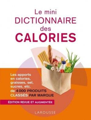 Le mini dictionnaire des calories - larousse - 9782035858603 -