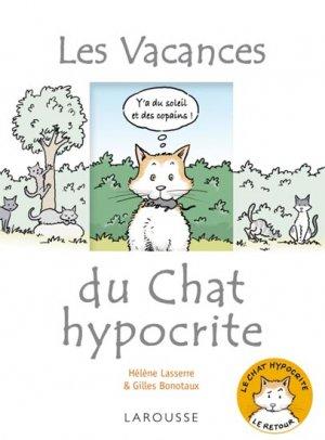 Les vacances du chat hypocrite - larousse - 9782035864154 -