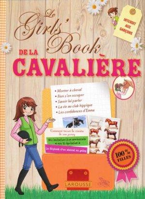 Le Girls' Book de la Cavalière - larousse - 9782035868428 -