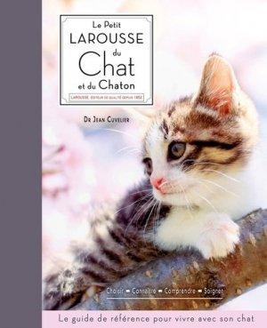 Le petit Larousse du chat et du chaton - larousse - 9782035918185 -