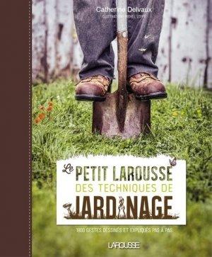 Le Petit Larousse des techniques de jardinage-larousse-9782035919724