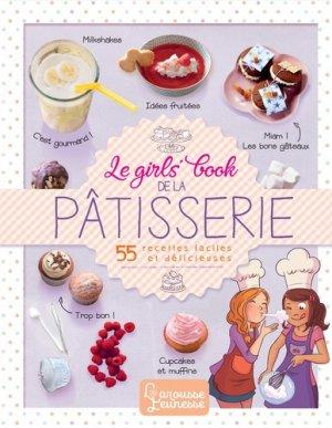 Le girls' book de la pâtisserie - larousse - 9782035958655 -