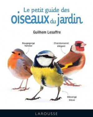 Le petit guide des oiseaux du jardin - larousse - 9782035968395 -