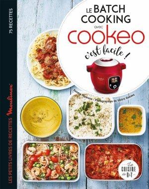 Le batch cooking au cookeo, c'est facile ! - dessain et tolra - 9782035986290 -