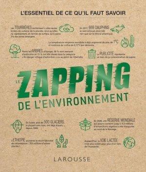 Le Zapping de l'environnement - Larousse - 9782035990617 -