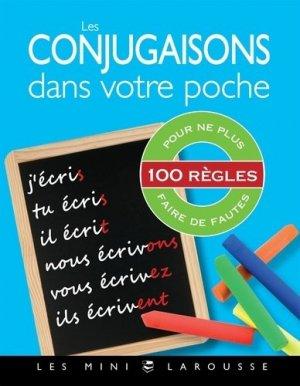 Les conjugaisons dans votre poche - Larousse - 9782036005730 -