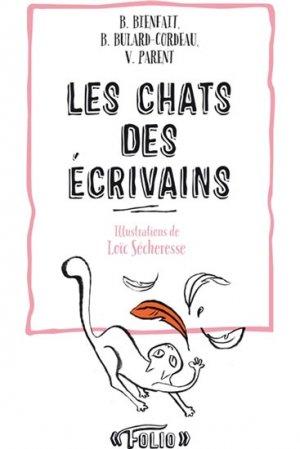 Les chats des écrivains - gallimard editions - 9782070466498 -