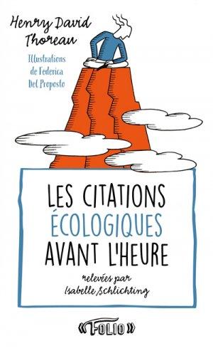Les citations écologiques avant l'heure - gallimard editions - 9782072719844 -