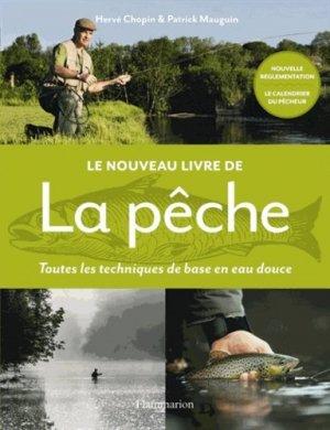 Le nouveau livre de la pêche - flammarion - 9782081351547 -