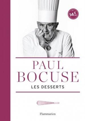 Les desserts de Paul Bocuse - flammarion - 9782081382626 -