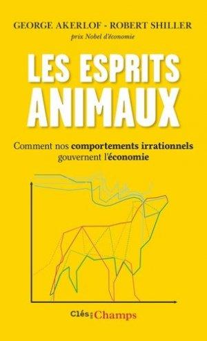 Les esprits animaux - Flammarion - 9782081433946 -