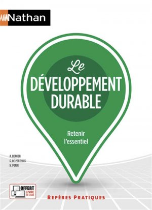 Le développement durable - nathan - 9782091651873 -