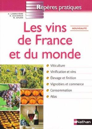 Les vins de France et du monde - nathan - 9782091832876 -