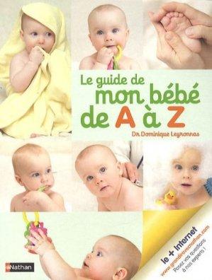Le guide de mon bébé de a à z - nathan - 9782092785393 -