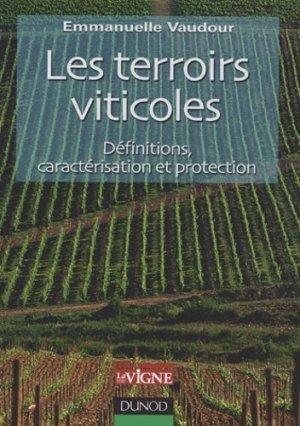 Les terroirs viticoles - dunod - 9782100064540 -
