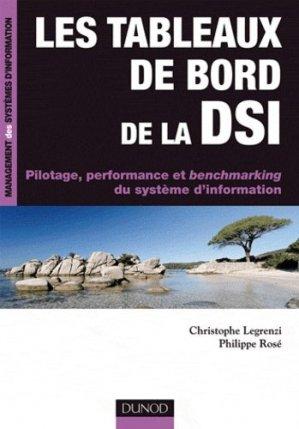 Les tableaux de bord de la DSI - dunod - 9782100532773 -