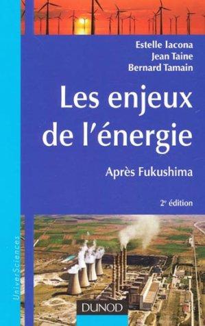 Les enjeux de l'énergie - dunod - 9782100566532 -