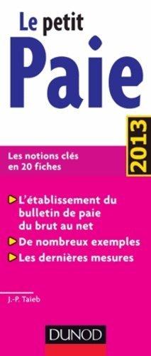 Le petit paie - Dunod - 9782100587407 -