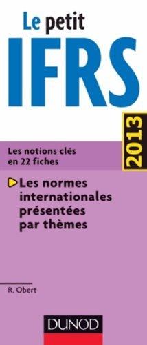Le petit IFRS 2013 - Dunod - 9782100587742 -
