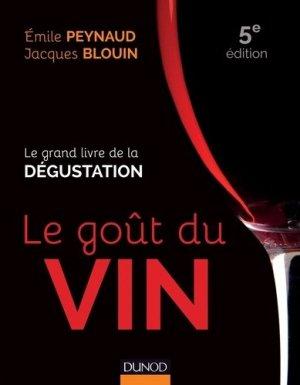 Le goût du vin - dunod - 9782100700806 -