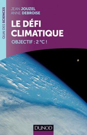 Le défi climatique - dunod - 9782100705276 -