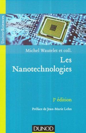 Les nanotechnologies - dunod - 9782100706099 -