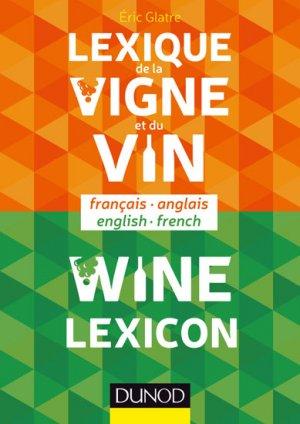Lexique de la vigne et du vin - dunod - 9782100714360 -