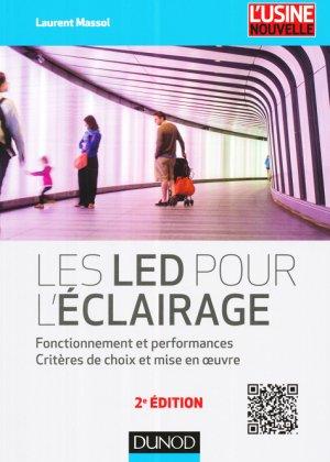 Les LED pour l'éclairage - dunod - 9782100738632 -