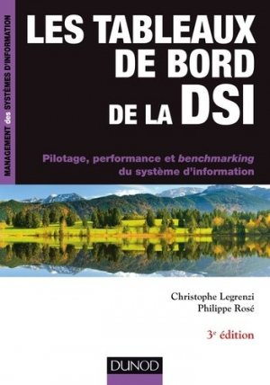 Les tableaux de bord de la DSI - dunod - 9782100742585 -