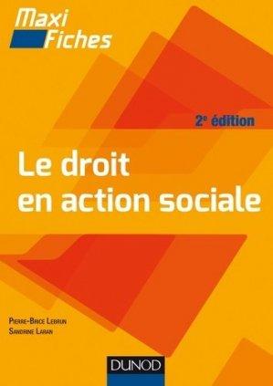 Le droit en action sociale - dunod - 9782100755189 -